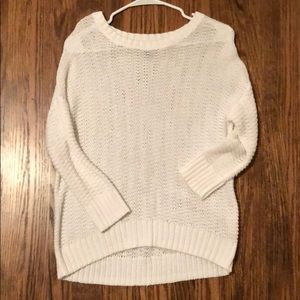 Old navy knit sweater in white
